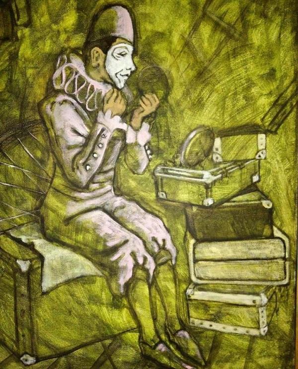 Ося Кудрявых выставка Цветное дыхание. Картиная галерея Арт-Релиз.РФ