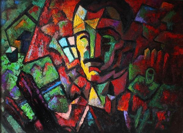 Ансар Галин. выставка Каландар. Творческая Мастерская Рябичевых Арт-релиз РФ (фото 5)