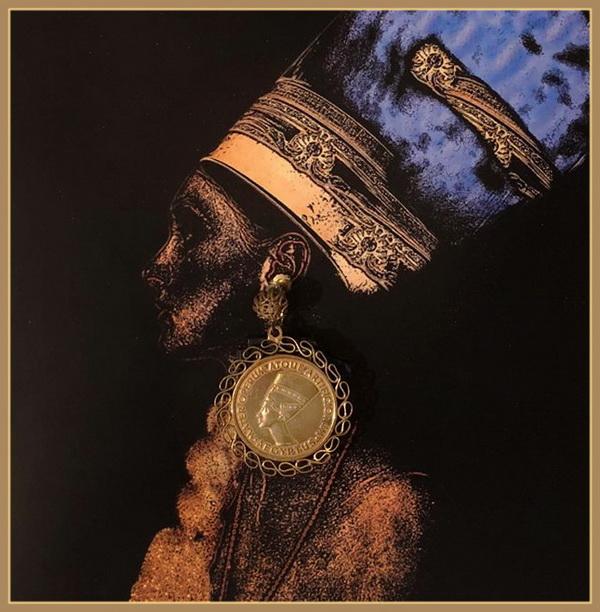 Образ с использованием украшения Мириам Хаскелл  их коллекции Софии Загряжской