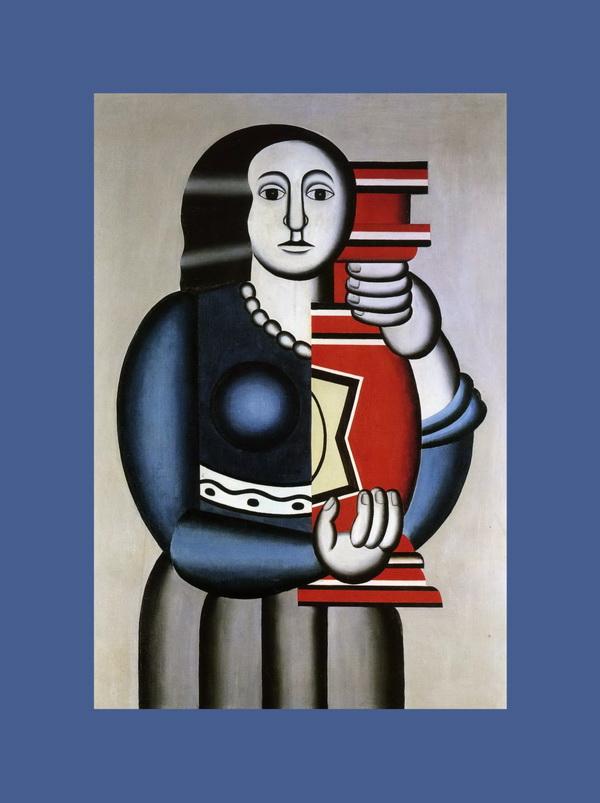 "Фернан Анри Леже ""Женщина с вазой"""