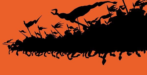 """Ансар Галин """"Орда"""" Заставка для документального фильма Чернила, компьютерная графика   2017 г."""