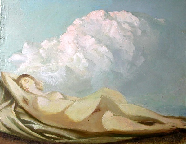 1980. Венера и облако. Выставка в МОСХ Кузнецкий мост, 20