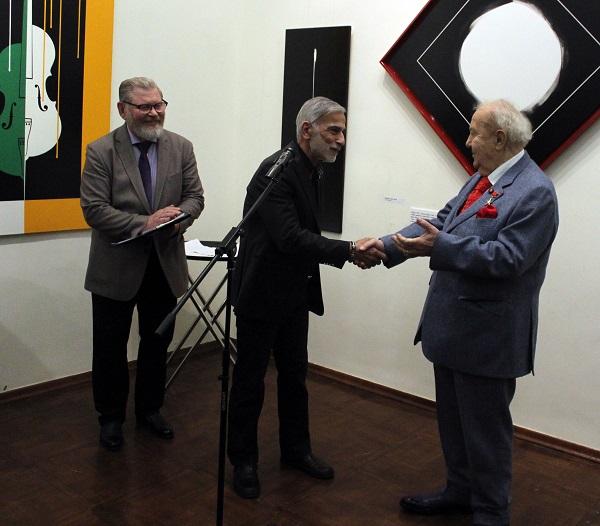 Академия Выставка Омара Чхаидзе Зураб Церетели и Омар АРТ-Релиз.РФ