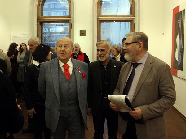 Академия Выставка Омара Чхаидзе Зураб Церетели .. АРТ-Релиз.РФ