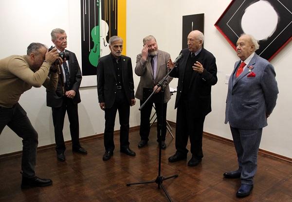 Академия Выставка Омара Чхаидзе открытие Таир Салахов АРТ-Релиз.РФ
