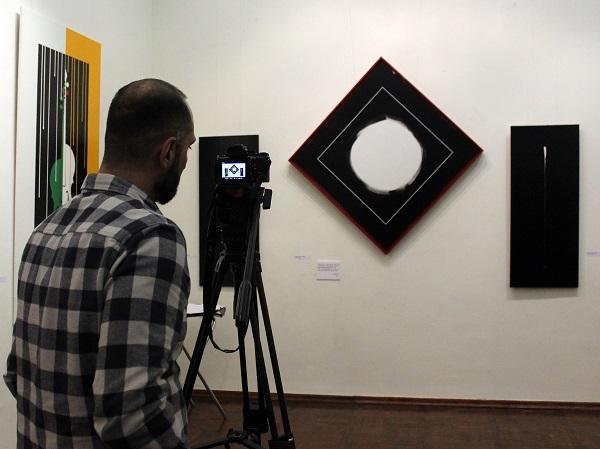 Академия Выставка Омара Чхаидзе съемка АРТ-Релиз.РФ
