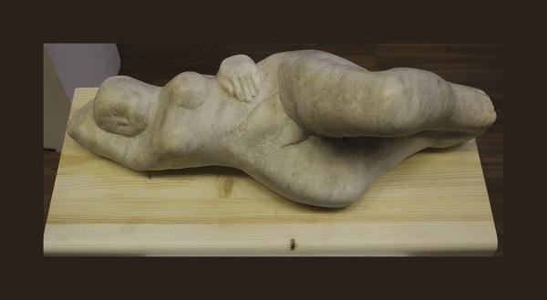 """Николай Выборнов """"Отдых"""" мрамор 2003 г."""