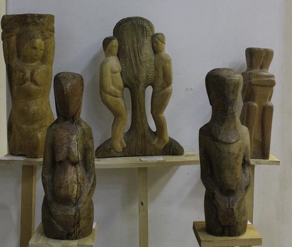 Скульптурные композиции  Николая Выборнова