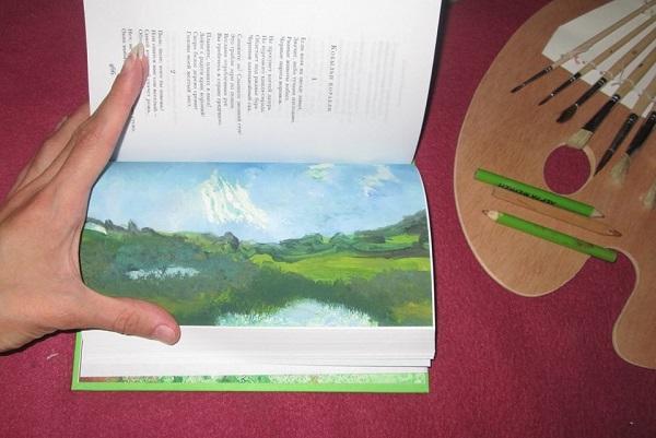 книжный диптих поэзии Сергея Есенина на двух языках русском и английском