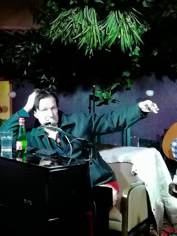 Анжей Захарищев фон Брауш в программе Михаила Сапожникова  TRANE ZEN ART фото: Светлана Конюхова