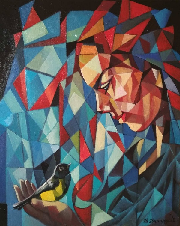Артзрун Асатрян картина композиция живопись абстракция Арт-Релиз.РФ