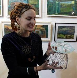 Мария Комыса примет участие в проекте Михаила Сапожникова TRANE ZEN ART в понедельник 18 февраля