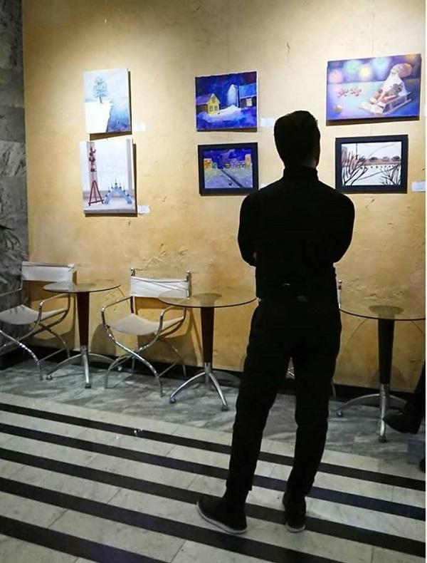 Выставка Любовь Нова в галерее Парадиз   ...Арт-Релиз.РФ