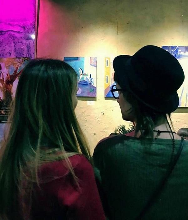 Выставка Любовь Нова в галерее Парадиз..... Арт-Релиз.РФ