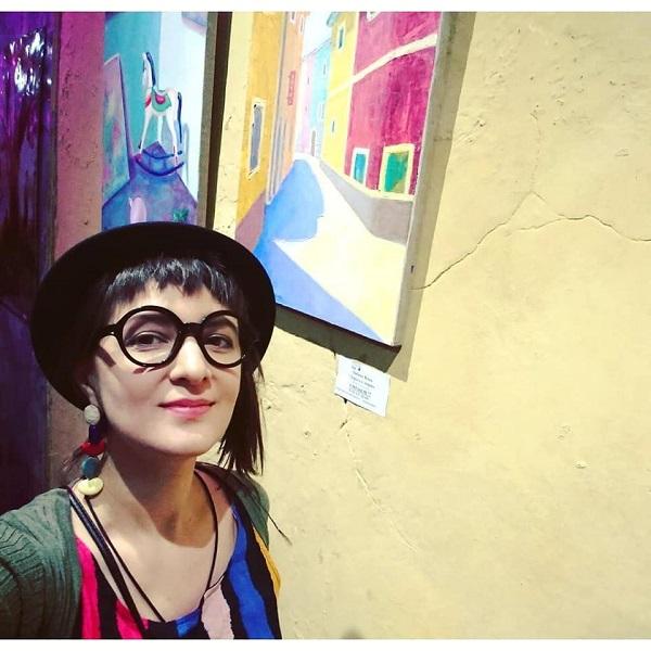 """Любовь Нова автор выставки  в Галерее """"Парадиз""""  Чистопрудный бульвар, дом 12 а до 27 января 2019 года"""