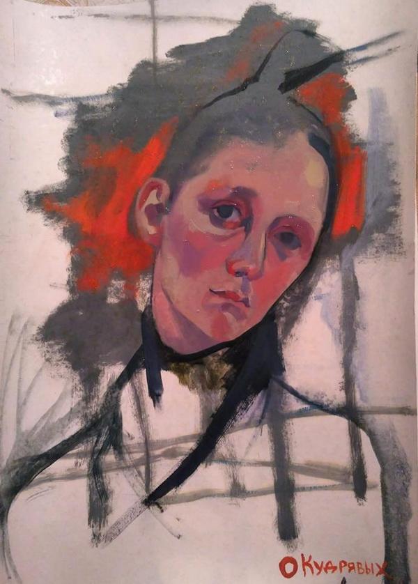 Ося Кудрявых  портрет ... Творческая Мастерская Рябичевых