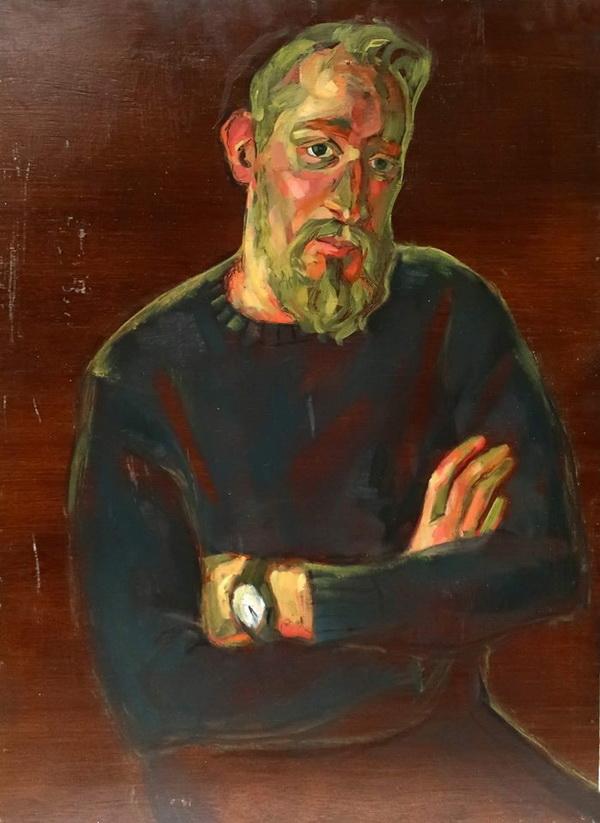 Ося Кудрявых  портрет. Творческая Мастерская Рябичевых