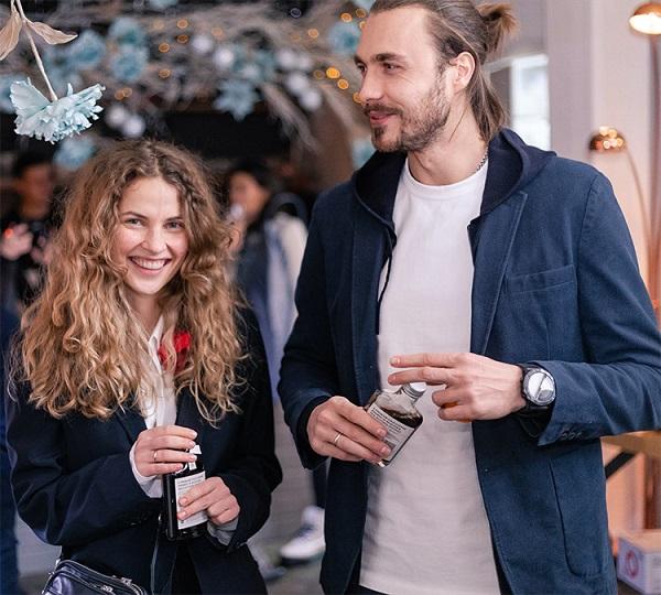 Никита Федотов на вечеринке Buro Canteen