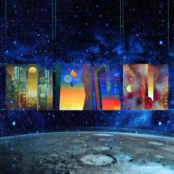 Первая Выставка на Луне. Михаил Мантулин. Арт-Релиз.РФ