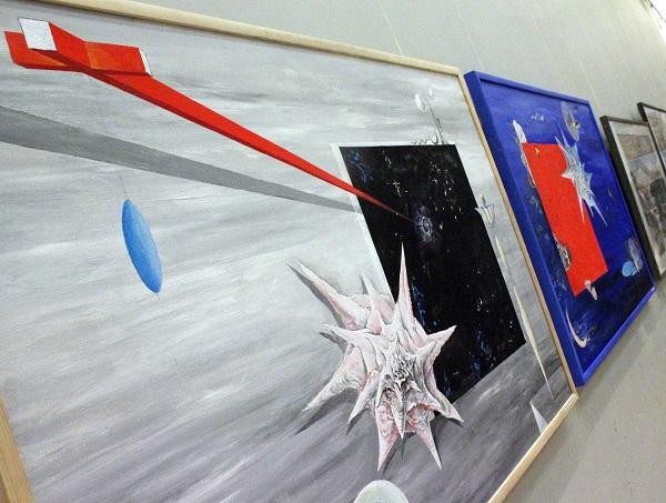 Первая Выставка на Луне. Фото из ЦДА. Весенняя выставка. Виктор Орловский.фото 8 Арт-Релиз.РФ