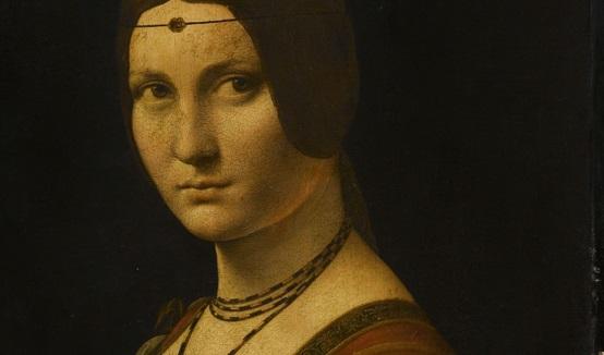 «Прекрасная Фероньера» (Париж, Лувр, ок. 1490) Фрагмент произведения. Фото: © RMN-Grand Palais (musée du Louvre) / Michel Urtado