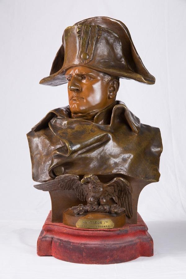 """""""Наполеон в Москве""""  Скульптор Р. Коломбо бронза  Франция  1885 г."""