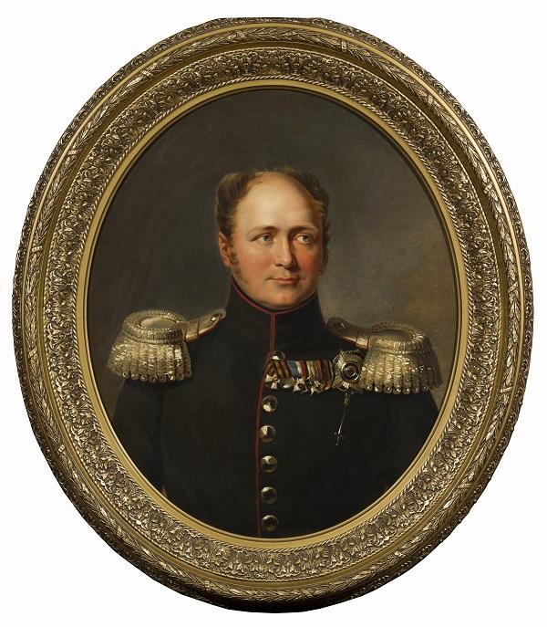 Портрет императора Александра I_  Дж. Доу.  Ок. 1825 г.  Собрание С.и Т. Подстаницких