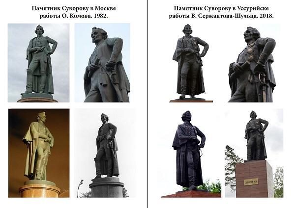 Памятники Суворову Арт-Релиз.РФ