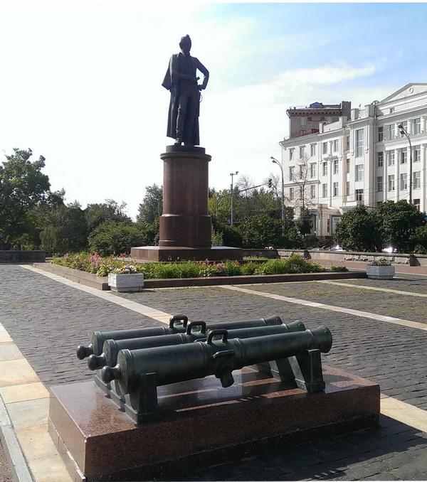 Памятник А.В. Суворову  в Москве Автор: Олег Комов
