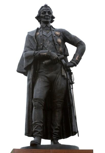 Памятник А.В. Суворову  в Уссурийске Изготовил Владимир Сержантов-Шульц