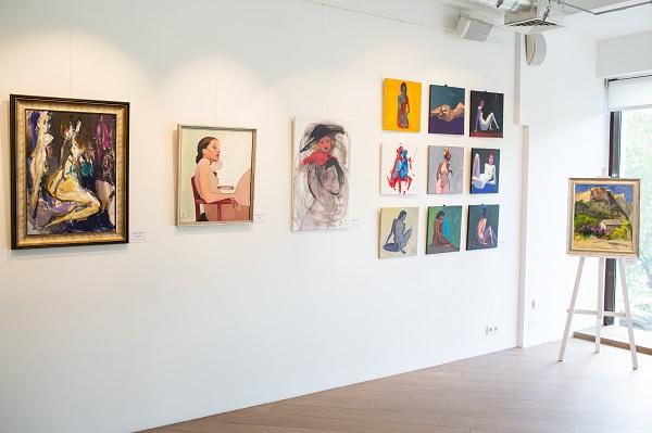 София Акимова, выставка картин