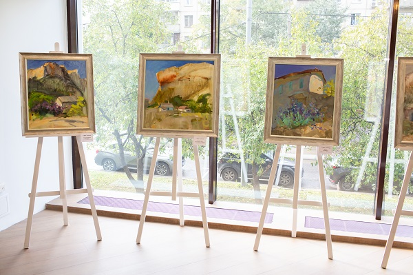 София Акимова, картины, выставки