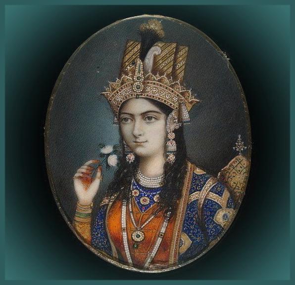 Мумтаз Махал в девичестве Арджуманад Бану Бегам, любимая жена правителя империи Великих Моголов Шах-Джахана