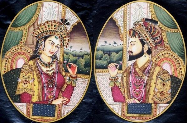 Мумтаз-Махал и падишах Шах Джахан I неизвестный автор