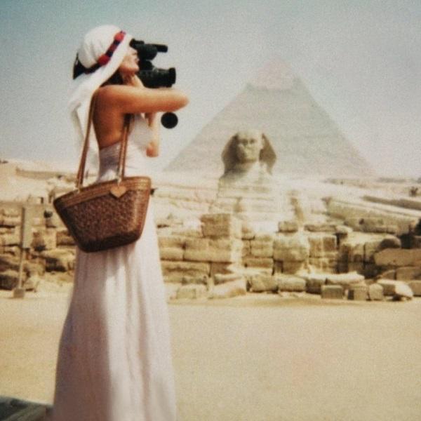 Александра Загряжская 1994 г.  Египет