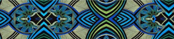 Александра Загряжская фрагмент орнамента