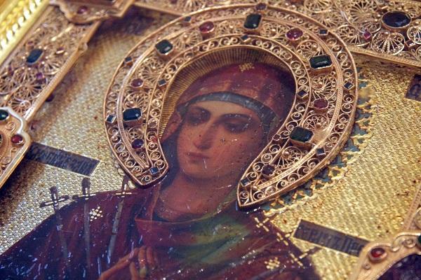 Икона Пресвятой Богородицы Умягчение злых сердец. .....  .Арт-Релиз.РФ
