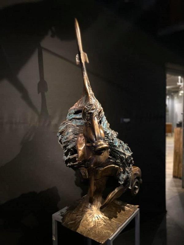 «MCMLXXI Рождество». скульптор  Владимир Крайнюченко