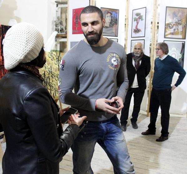 Выставка Махназ Жабри Mahnaz Jabri. Арт-Релиза.РФ