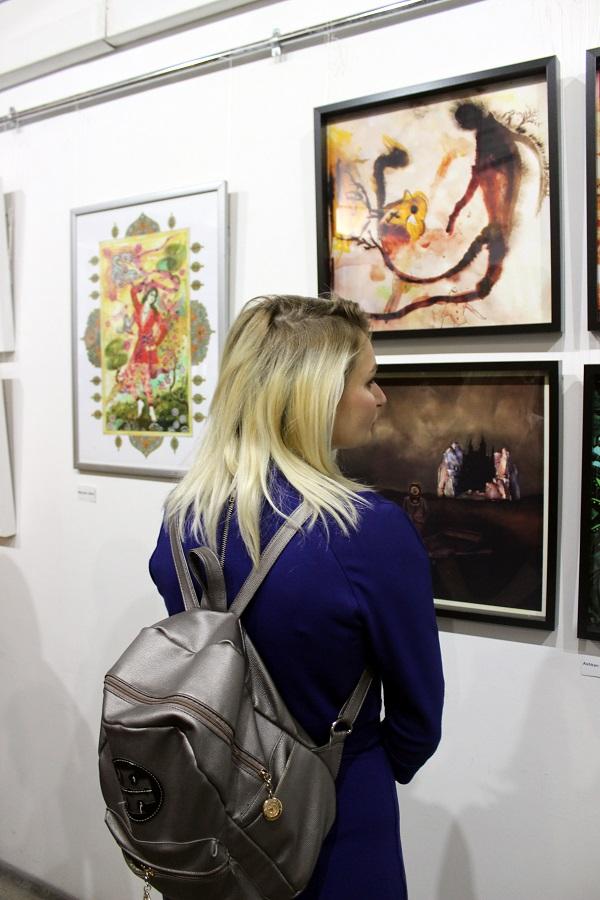 Выставка Махназ Жабри Mahnaz Jabri...... Арт-Релиза.РФ