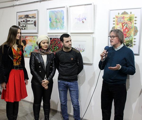 Выставка Махназ Жабри Mahnaz Jabri.............. Арт-Релиза.РФ