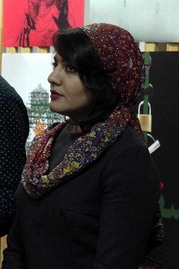 Махназ Жабри Художник, куратор выставки, магистр графического дизайна