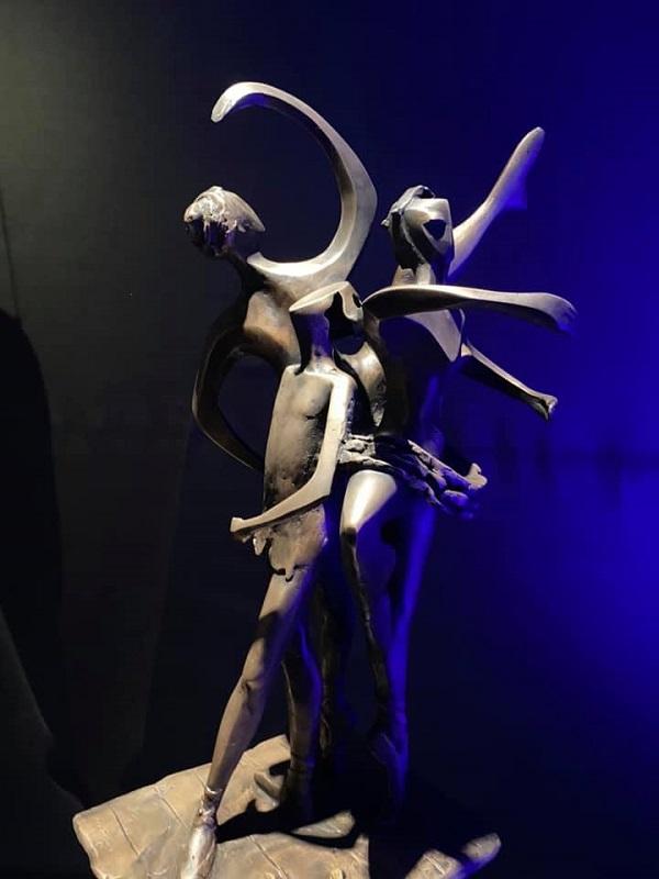 «В поисках себя...» скульптор  Татьяна Латынина