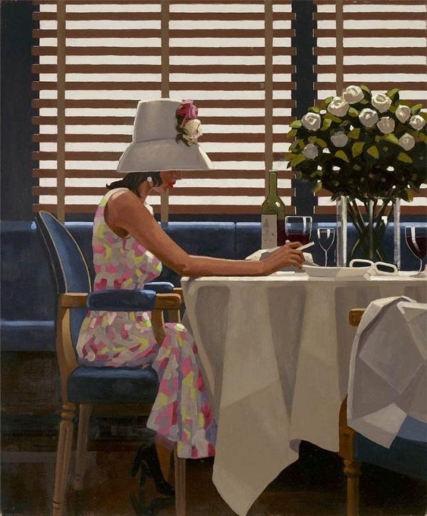 Джек Ветриано девушка в Кафе Арт-Релиз.РФ