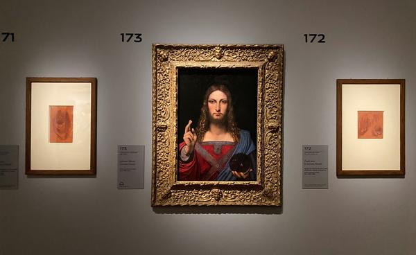 Леонардо да Винчи выставка в Лувре фото 11. Арт-Релиз.РФ