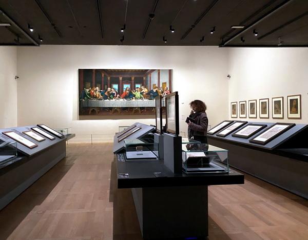 Леонардо да Винчи выставка в Лувре фото 7. АРТ-релиз.РФ