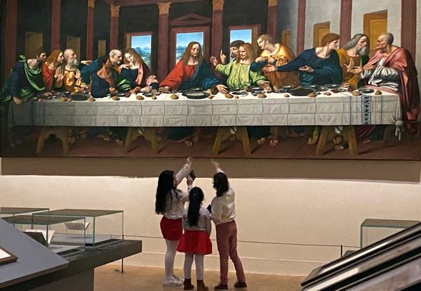 Леонардо да Винчи выставка в Лувре фото 8. АРТ-Релиз.РФ