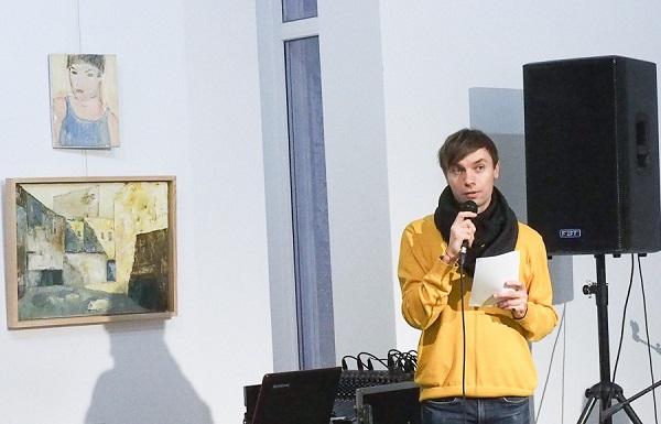 Евгений Глобенко арт-директор  Выставочного пространства АРТ-Парк