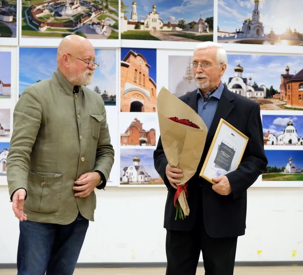 Поздравление от Николая Шумакова президента Союза архитекторов России  генерального директора Центрального Дома архитектора