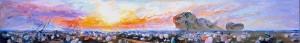Виктор Федорович Орловский «Пейзаж безвременья» 1988 — 2002 гг. холст, смешанная техника